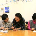 渡辺美絵 障害者施設で障害者の心を癒すアロマ講座を開催